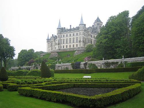 Dunrobin Castle, Golspie, Scotland. Castles visited - Crathes, Balmoral,